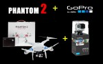 DJI Phantom2 GPS智能航拍多軸飛行器+GoPro (H4-3D三軸GoPro雲台) (V 2.0)